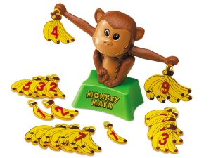 Monkey Math! One of Doug's first modeling gigs...