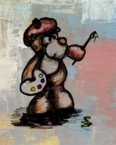 Another monkey masterpiece...