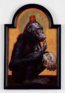 """""""The Artist's Unconscious Mind (Self-portrait)"""" by Jean Labourdette"""