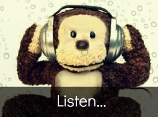 listen monkey