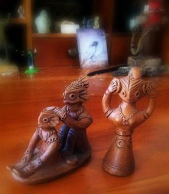Strange little clay thingies...