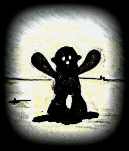 Dark night of the monkey soul...
